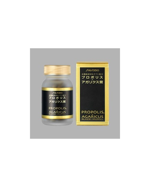 SHISEIDO Propolis+Agarukus N 90 мягких капсул