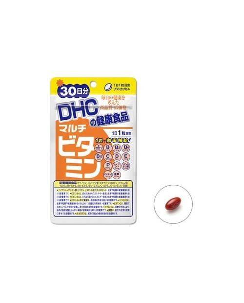 DHC Мульти-витамины (витамин B1 · Витамин C · Витамин Е ( 30дней)