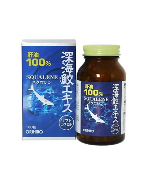 "The supplement ""SQUALENE"" - deep-sea shark liver oil"