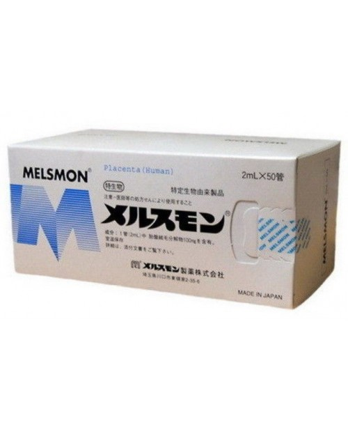 MELSMON Human Placenta Injection 2 ml x50 ampules