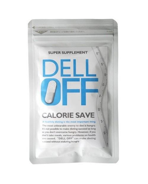 Dell Off биодобавка для похудения на основе конжак (конняку)