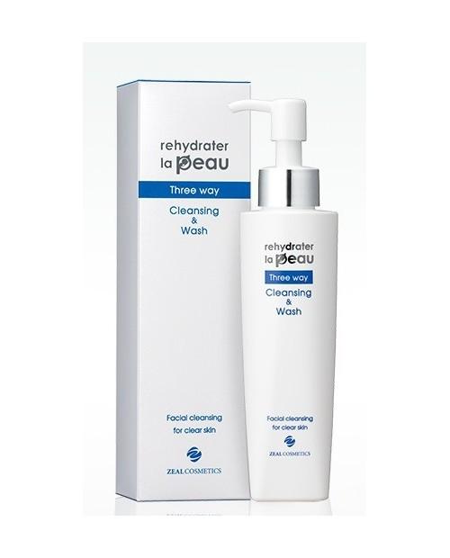 Zeal REHYDRATER LA PEAU AT Three Way Cleansing & Wash Z чистящее и моющее средство для атопической кожи