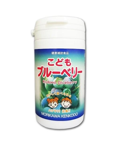 MORIKAWA KENKODO Kodomo Blueberry биодобака детский экстаркт из черники