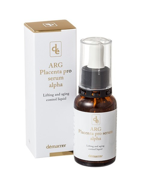 Demarrer ARG Placenta Pro Serum Alhpa Lifting and aging control  liquid - антивозрастная, лифтинговая сыворотка