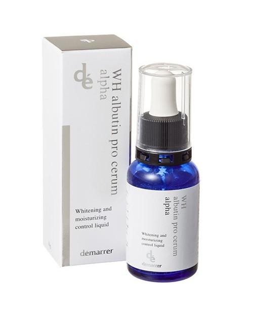 Demarrer WH albutin pro serum alpha Whitening and moisurizing control liquid - отбеливающая и увлажняющая сыворотка