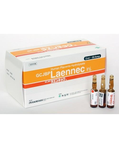 GCJBP LAENNEC Placenta 2 ml x 50 ampules