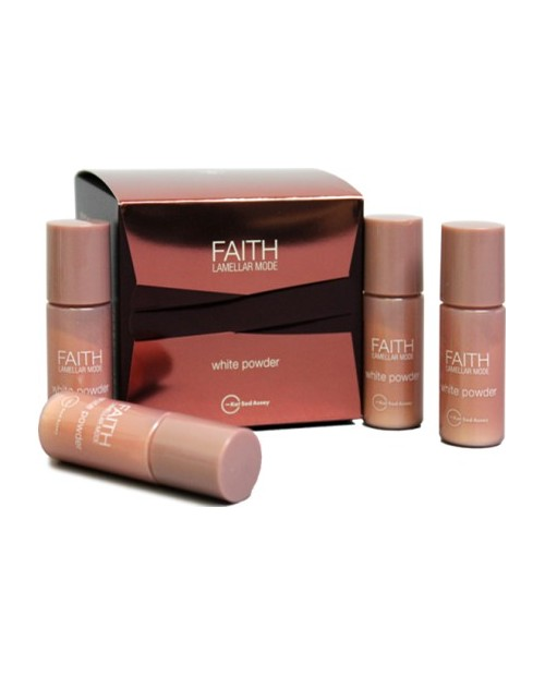 FAITH Lamellar MODE WHITE POWDER/ ЛАМЕЛЛЯРНАЯ БЕЛАЯ ПУДРА, 4 флакона по 3гр