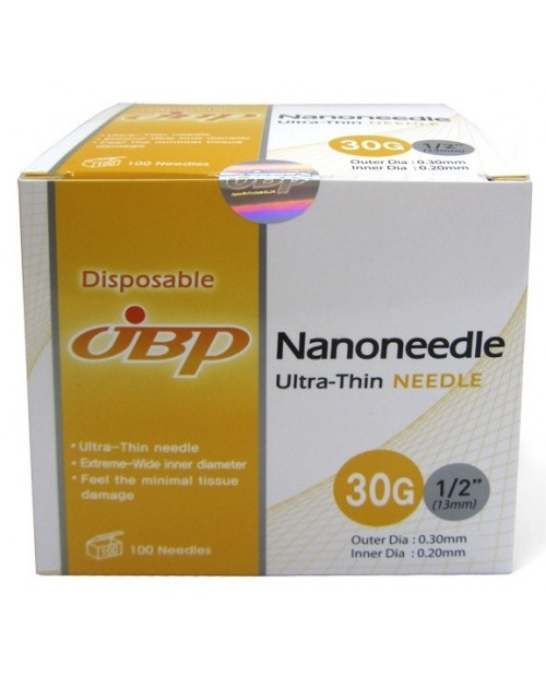 JBP Nanoneedle 30G- 100pcs/ JBP Наноиглы 30G- 100 штук