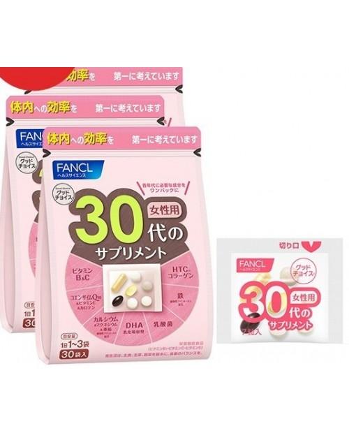 Fancl Good Choice 30 х 3 / Комплексные витамины для женщин старше 30 лет на 30~90 дней