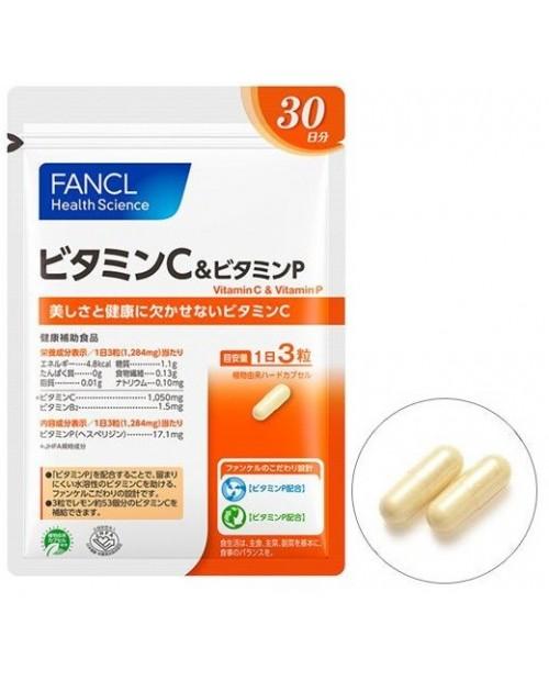 Fancl Vitamin C & Vitamin P/ Витамин С и P на 30 дней