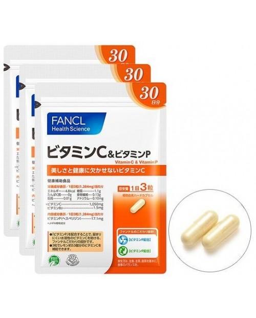 Fancl Vitamin C & Vitamin P/ Витамин С и P на 90 дней