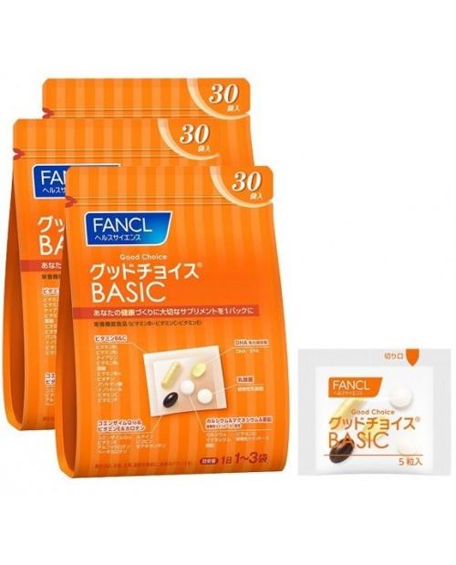 Fancl Good Choice Basic/ Базовые витамины для мужчин и женщин на 30~90 дней