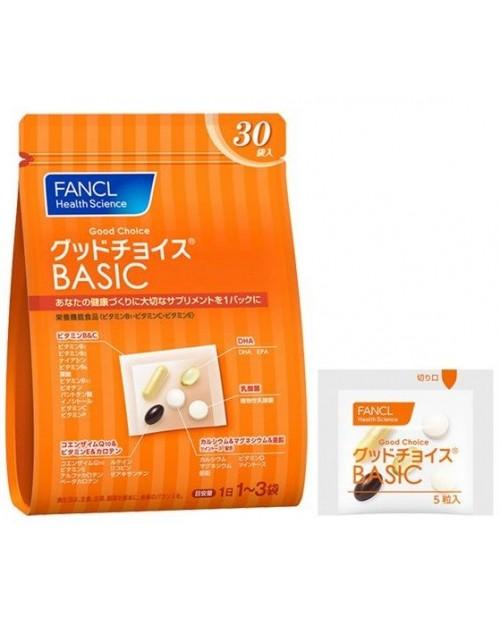 Fancl Good Choice Basic / Базовые витамины для мужчин и женщин на 10~30 дней