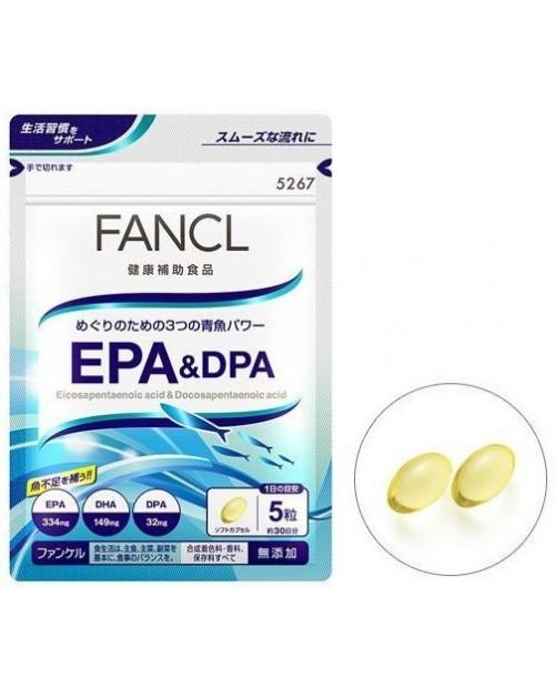 Fancl EPA & DPA/ Борьба со стрессом и нервным напряжением на 30 дней