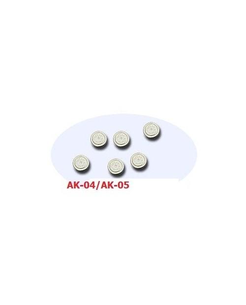 OMRON Ear filter AK-04/AK05 адапционные фильтры для слухового аппарата OMRON AK-04/OMRON AK-05