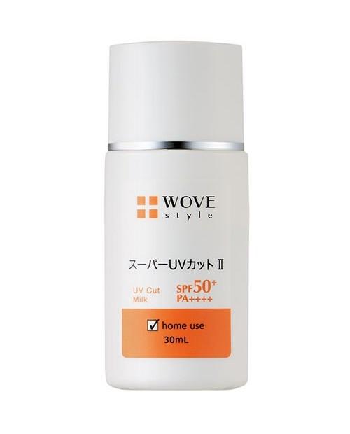 WOVE Style Super UV Cut ll Milk SPF 50+ PA++++/ Солнцезащитное молочко 30ml
