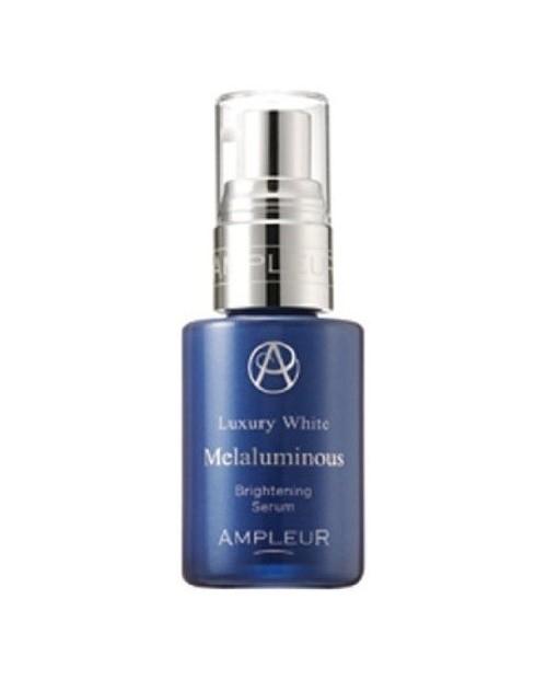 AMPLEUR Luxury White Mmelaluminous Brightening Serum/ Увлажняющая сыворотка против выбработки меланина 30ml