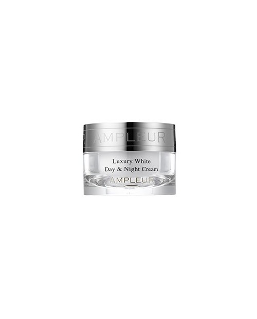 AMPLEUR Luxury White Day & Night Cream/ Увлажняющий дневной и ночной крем проив пигментации 30g