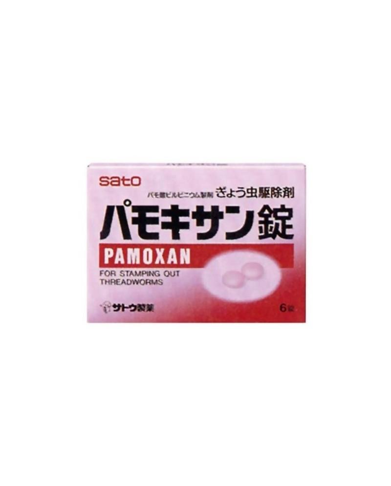 SATO PAMOXAN препарат против паразитов в кишечнике 6 таблеток