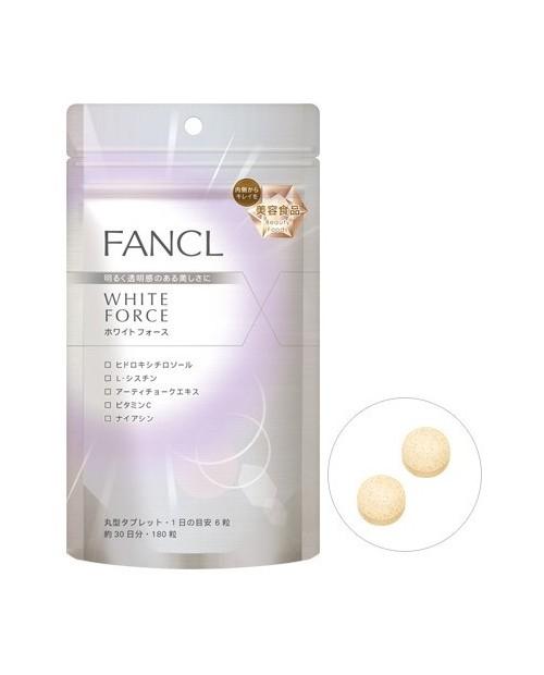 Fancl White Force/ White Advance на 30 дней
