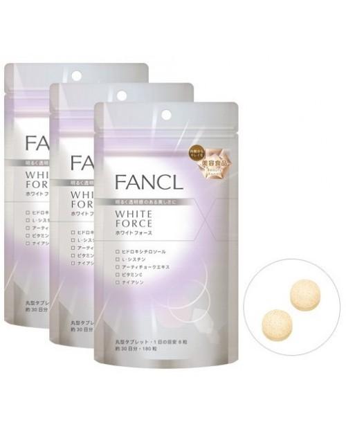 Fancl White Force/ White Advance на 90 дней