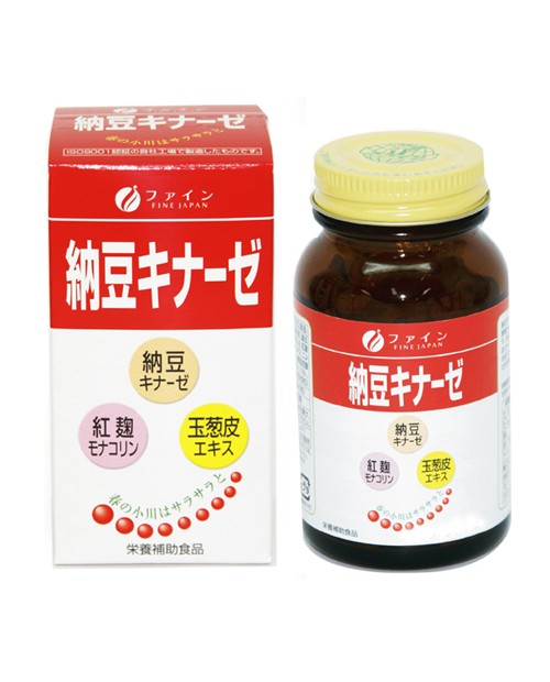 "Bean Extract ""Natto Kinase"" - a unique cleansing blood"