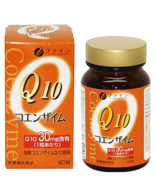 FINE Coenzyme Q 10-30 ( Коэнзим Q10-30 с витамином В1, B2, B6)