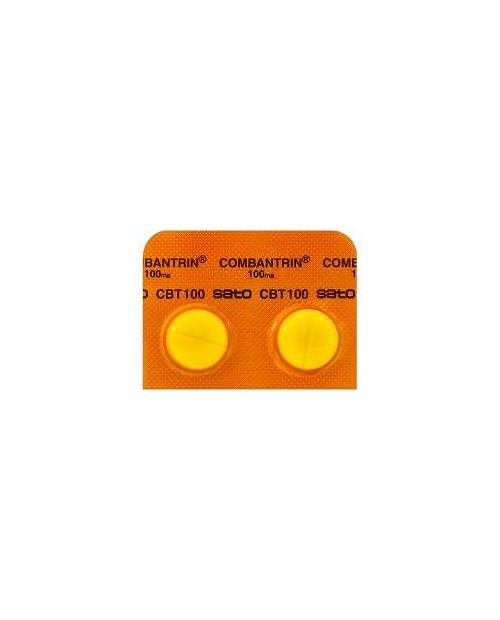 """Sato """"Combantrin""""  100mg x 30 tabs/ антигельминтное средство с широким спектром действия"""
