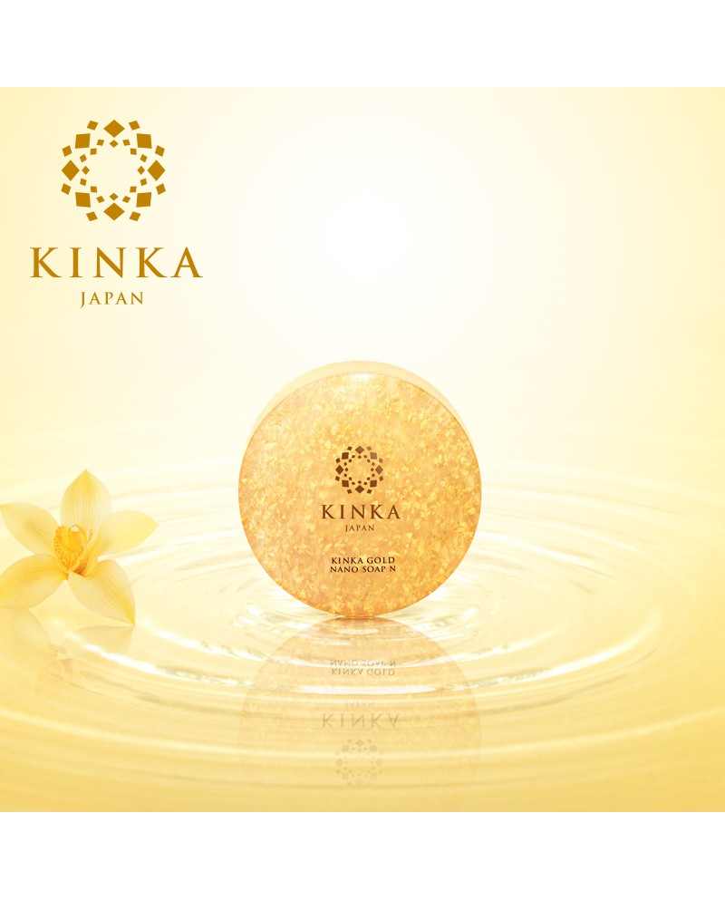 Kinka Gold Nano Soap N 100g