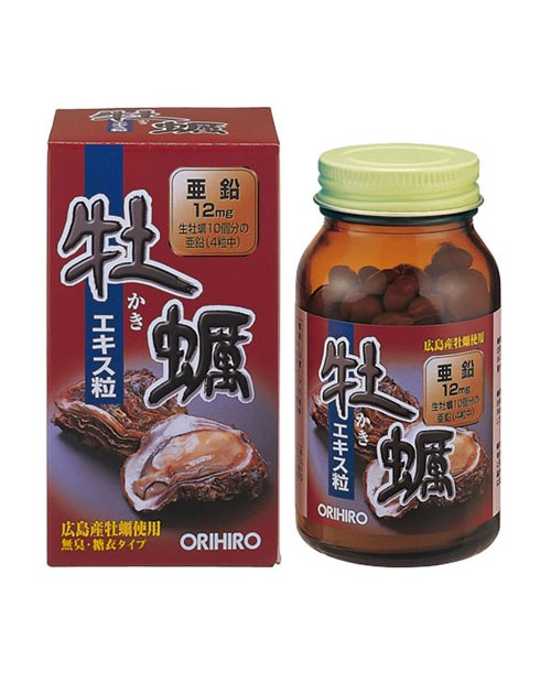 ORIHIRO OYSTER Extract Grain 120tablets