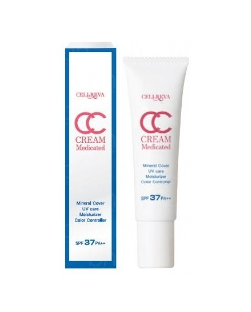 Cellreva CC Cream Medicated  SPF37 PA++ 30g