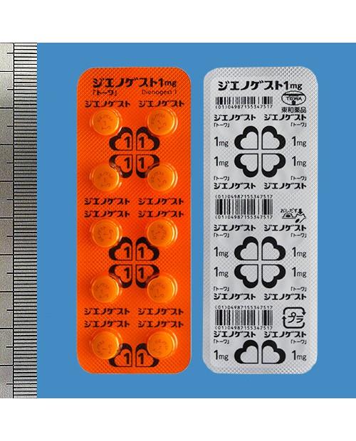 """Towa """"Dienogest"""" 1 mg x 60 tabs"""
