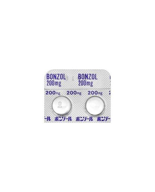 """Nanabe/Mitsubishi """"Bonzol 200mg""""  100 tab/ Препарат для лечения эндометриоза 100 таб"""