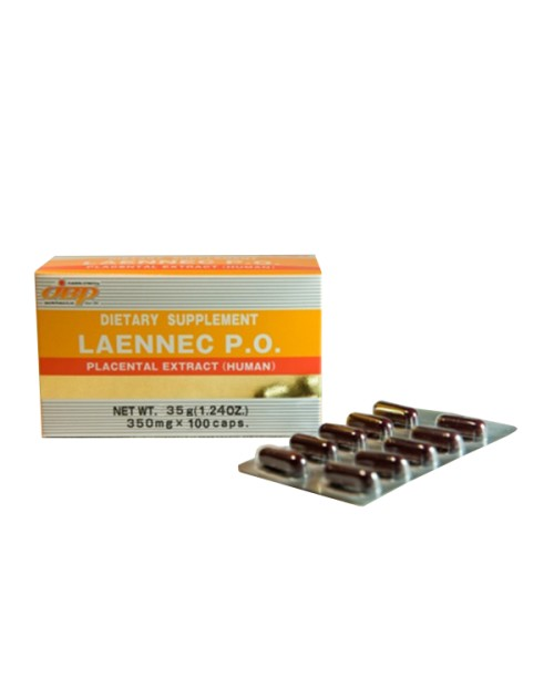 JBP LAENNEC P.O. Placental Extract (Human) 100 caps/ ЛАЕННЕК в капсулах  100 капсул х