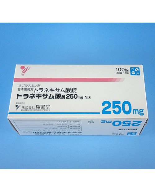 "Nichijin ""Tranexamic acid tablet 250 mg ""YD"" x 1000tab"