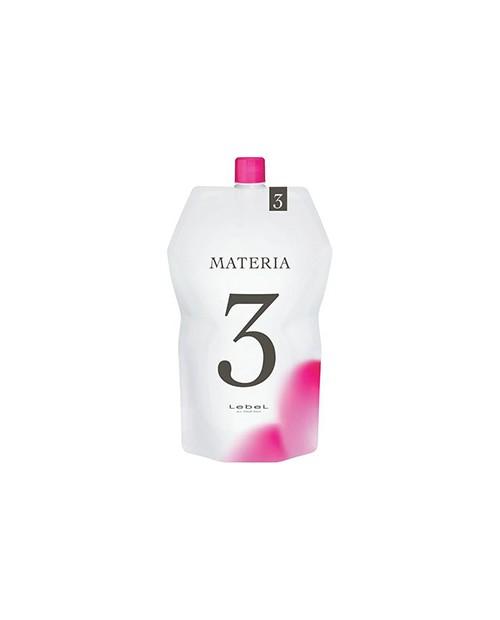 Lebel Materia Oxy 3% - Оксидант для смешивания с краской Materia