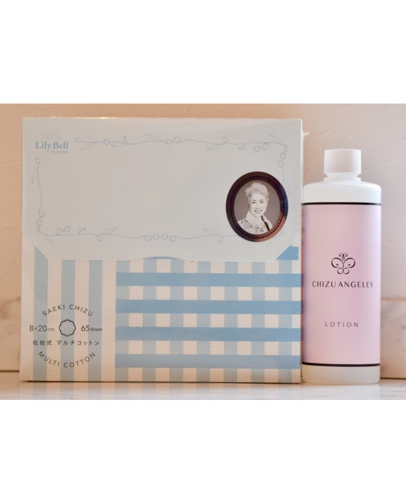 Chizu Saeki Cosmetics Chizu Angeles Lotion pack