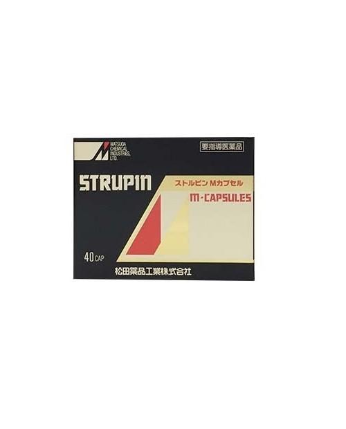Strupin M-Capsules 40 caps/ Препарат от импотенции и для стимуляции эрекции 40 капсул