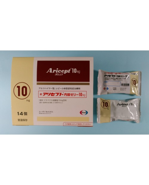 "Eisai "" Aricept"" Jelly 10mg x 14/"