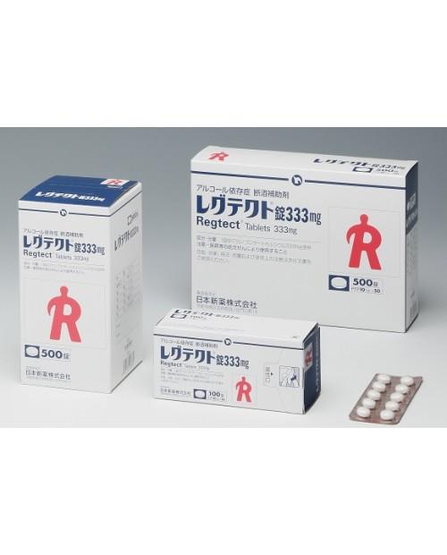 "Nippon Shinyaku ""Regtect"" 333mg x 100 tab/ Препарат от алкогольной зависимости 100 таблеток"