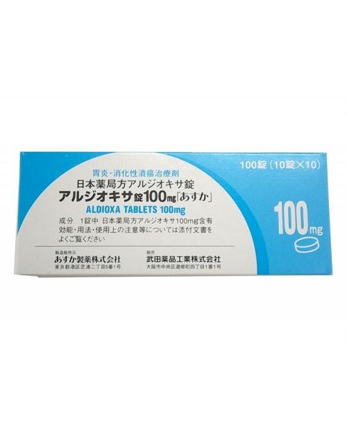 """Asuka  """"Aldioxa"""" 100mg x 100 Tab"""