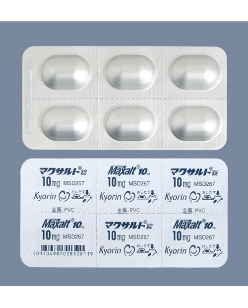 """""""KYORIN"""" Maxalt Tablets 10mg x 6 Tab / Препарат для лечения  мигрени 6 таблеток"""