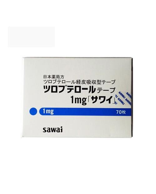 """SAWAI"" Tulobeterol tape 0.5mg :70pcs"