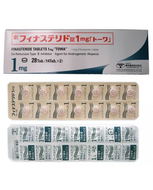 """Towa"" FINASTERIDE Tablets 1mg x 28 Tab / Препарат для лечения алопеции по мужскому типу 28 таблеток"