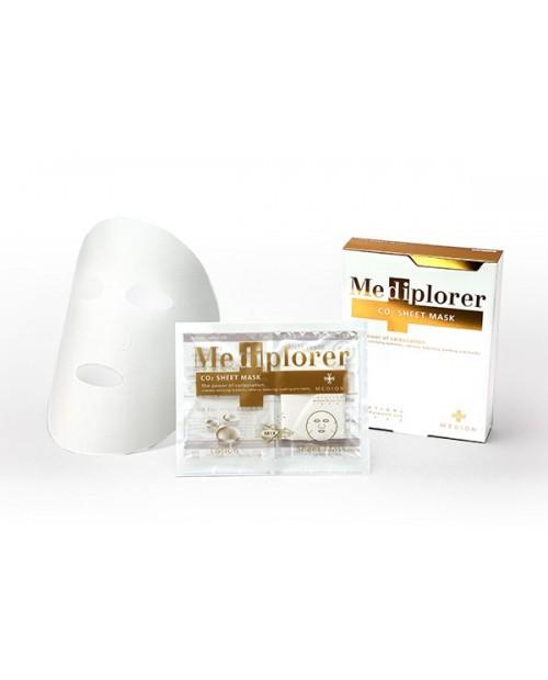 Mediplorer CO2 sheet mask 5 sets / Маска CO2 тканевая на 5 процедур
