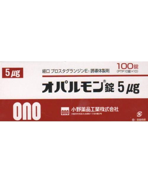 """""""Ono"""" OPALMON Tablets 5mcg x 100 tab/Облитерирующий тромбоангиитом и приобретенный стеноз поясничного отдела"""