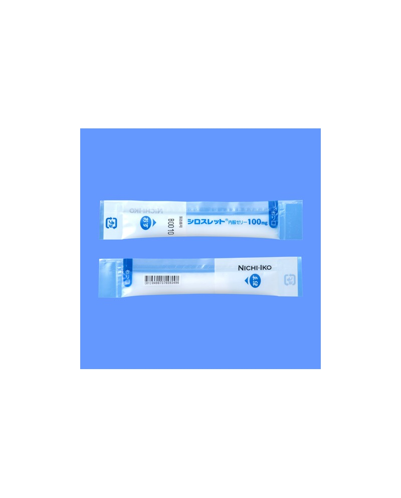 """Nichi -iko"" Ciloslet Oral Jelly 100mg x100"
