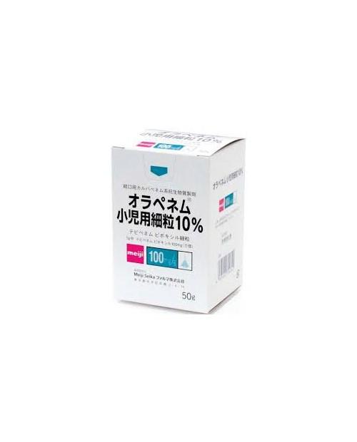 """Meiji seika""ORAPENEM FINE GRANULES 10% FOR PEDIATRIC 50g bottle"