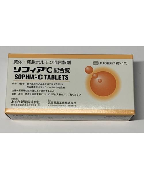 "Asuka Farma ""Sophia C"" 1mg/0.05mg x 210 tab/ Нарушение менструальных циклов 210 таб"