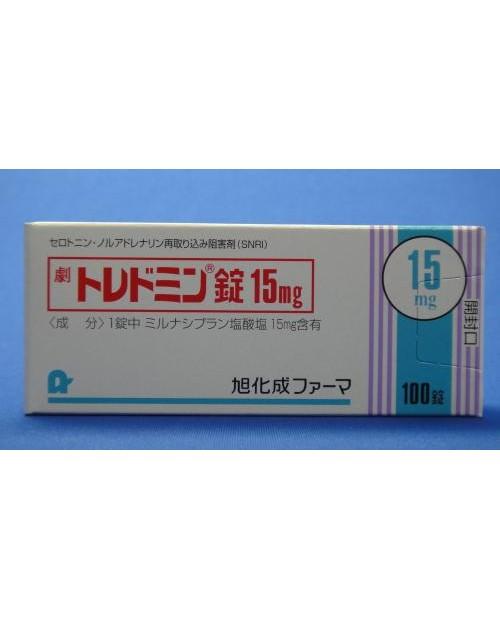 """""""Asahi Kasei Pharma"""" Toledomin Tablets 15mg x 100 Tab"""